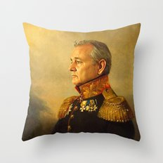 Bill Murray - Replacefac… Throw Pillow