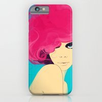 iPhone & iPod Case featuring Fluro by Mosessa