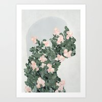 She's Changing Art Print