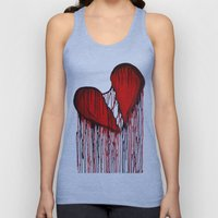 Bleeding Heart Unisex Tank Top