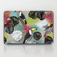 Tropical Birds (Color 2 - Bold) iPad Case