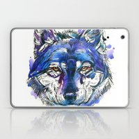 Indigo Wolf Laptop & iPad Skin