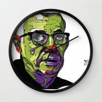 J.P. Sartre Wall Clock