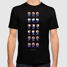 Bomberman Mens Fitted Tee Black SMALL