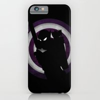 iPhone & iPod Case featuring SuperHeroes Shadows : Hawkeye by Lily's Factory