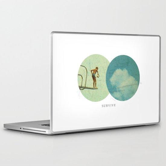 Survive | Collage Laptop & iPad Skin