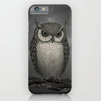 iPhone & iPod Case featuring An Owl by Mai Ly Degnan
