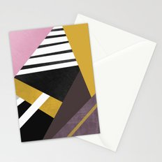 Geometric Combination  Stationery Cards