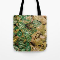 Leaves Evolved 3 Tote Bag