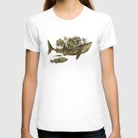 shark T-shirts featuring shark by Кaterina Кalinich