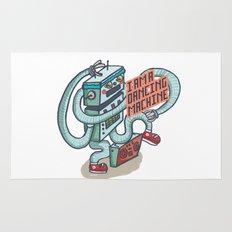 I am a dancing machine Rug