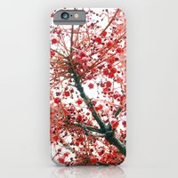 iPhone & iPod Case featuring Star Berries by Clare Cripps