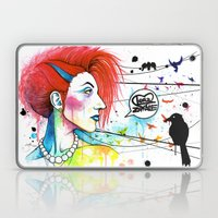 Lora Zombie Laptop & iPad Skin