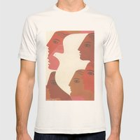 Peace Mens Fitted Tee Natural SMALL