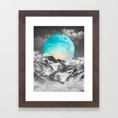 It Seemed To Chase the Darkness Away Framed Art Print