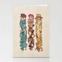 Working Man's Beard Stationery Cards