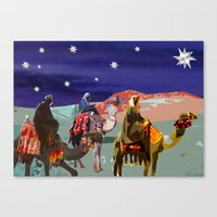 The Three kings  Canvas Print