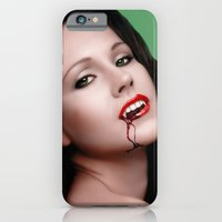 iPhone & iPod Case featuring The Vamp by Andrew Treherne