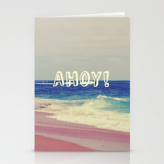 Ahoy! Stationery Card