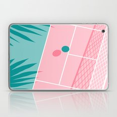 Jock - tennis sport retro neon throwback palm springs los angeles hollywood california sunny pop art Laptop & iPad Skin