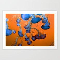 Medusan VII Art Print