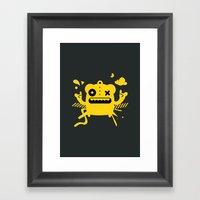 Monster Art Framed Art Print