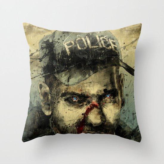 Lame Brain Shane Throw Pillow
