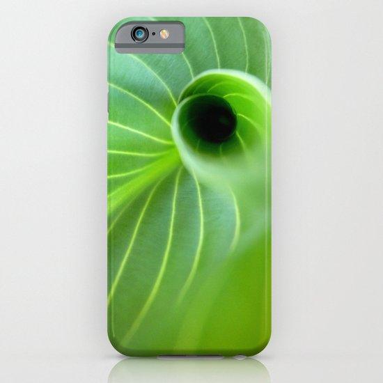 Green Swirl iPhone & iPod Case