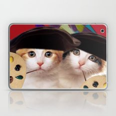 cateou twins Laptop & iPad Skin