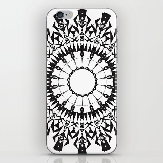 No Way Black iPhone & iPod Skin