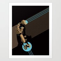The Engineer Art Print