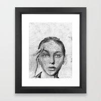 A Short Goodbye Framed Art Print