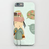 "iPhone & iPod Case featuring ""I like London in the rain"" by Rita Acapulco"