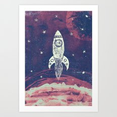 Space Adventure Art Print