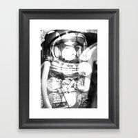 Astrodots Framed Art Print