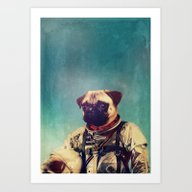Art Print featuring A Point To Prove by Rubbishmonkey