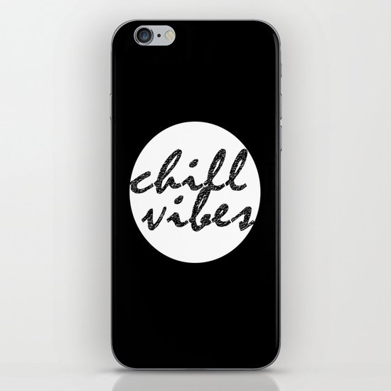Chill Vibes iPhone & iPod Skin