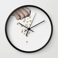 give/take Wall Clock