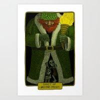 Ghost Of Christmas Prese… Art Print