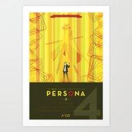 Persona 4 Art Print