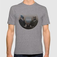 Mordecai & Rigby Mens Fitted Tee Athletic Grey SMALL