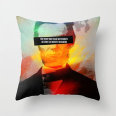 Abe Lincoln: Strive to be Worthy Throw Pillow