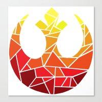 Star Wars Rebel Alliance… Canvas Print