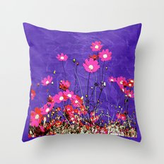Coquetry floral Throw Pillow