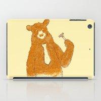 Office Bear iPad Case