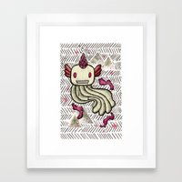 Mad Squillie Framed Art Print