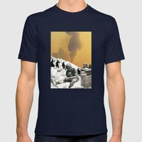 An Industrial Vice Mens Fitted Tee Navy SMALL