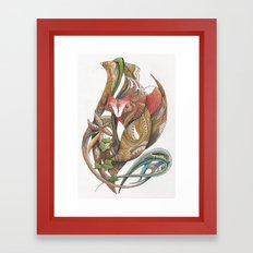 Essence of the fox Framed Art Print