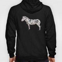 Geometric Zebra Hoody