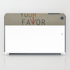 Hunger G Poster 02 iPad Case